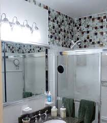 glass tile for bathrooms ideas bathroomluxury bathroom glass tile accent ideas decor mosaic
