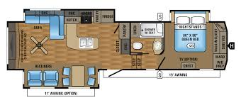 floor plans and prices 5th wheel floor plans 2017 eagle fifth wheel floorplans prices