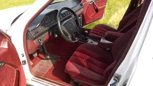1994 mercedes benz e320 w124 with red velours interior showcase