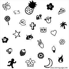 emoji cool coloring pages printable