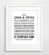 sprüche oma und opa digitaldruck oma opa hausordnung famile poster druck