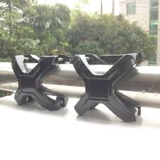 work light mounting bracket aluminum alloy x clip car bumper light mounting bracket l holder