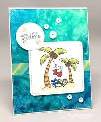tropical christmas cards palm tree christmas card by danielle pandeline sun soaked
