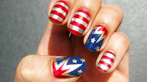 fourth of july nail art ideas red white and sparkle today com