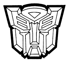 autobot symbol colouring pages coloring