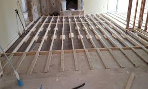 level floor raising a 1960s sunken living room floor pro remodeler