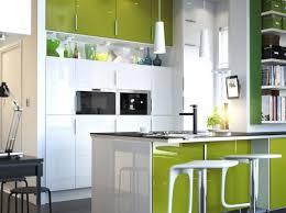 cuisine jaune et verte photo cuisine verte et jaune