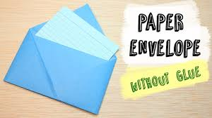 how to make envelopes how to make a paper envelope without glue