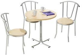 Cafe Style Table And Chairs Furniture Enjoy Your Dining Time With Bistro Table And Chairs