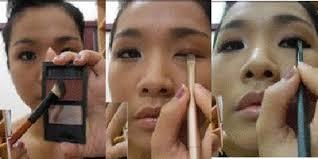 tutorial make up natural untuk kulit coklat tutorial make up ala bintang korea plus gambar vemale com