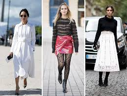 style trends 2017 street style trends from paris fashion week spring 2017 street