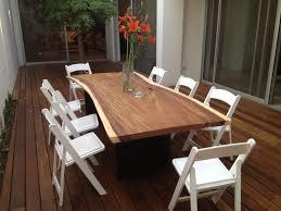 Terrace Dining Room Terrace Deck And Parota Dining Table Deck Ideas Pinterest
