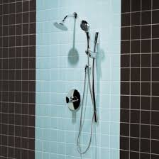 Black And Blue Bathroom Tile Wall With Simple Shower Walls For - Designs of bathroom tiles