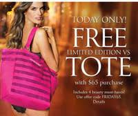victoria secret free tote bag black friday buy victoria u0026 39 s secret sequin pink tote bag only black friday