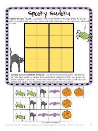 halloween card game fun games 4 learning halloween math freebies