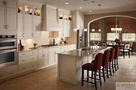 eat in kitchen island kraftmaid cabinets kitchen traditional with kitchen island white