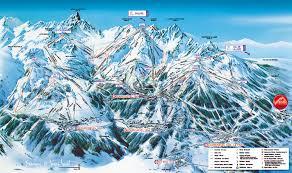 Montana Ski Resorts Map by La Tania Piste Maps And Ski Resort Map Powderbeds