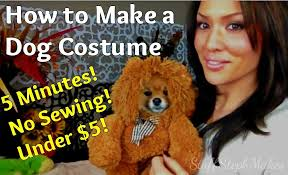 Dog Halloween Costumes Adults Super Easy Sew Dog Costume Pictures