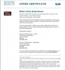 ruth chris gift cards yummylocal ruth s chris steak house gift certificate deal