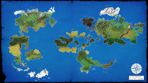 Skyrim Quality World Map by A Large World Map I Have Been Working On For A Campaign With Each