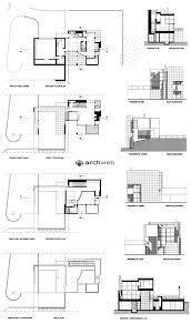 House Diagrams by Ad Classics Rachofsky House Richard Meier U0026 Partners Richard