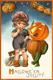 1098 best vintage postcards halloween images on pinterest