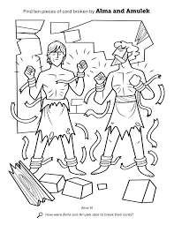 mormon thanksgiving book of mormon stories coloring pages youtuf com