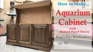 Spaceballs For Cabinet Doors by 35 Aquarium Cabinet From Walnut And Cherry Raised Panel Doors