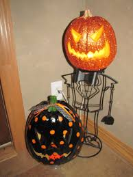 fiber optic halloween pumpkin decorations sustainably chic designs more halloween decorating u0026 pumpkin