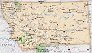 Map Of Montana by Small Towns And Ghost Towns Trip Idea