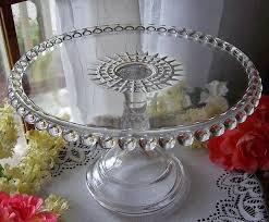 Crystal Pedestal Cake Stand 764 Best Vintage Cake Plate U0027s Images On Pinterest Cake Plates