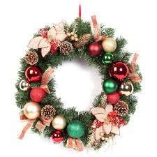 plastic christmas decoration christmas ball wreath christmas