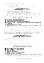 Sample Resume For Hr Assistant Resume Of Hr Assistant