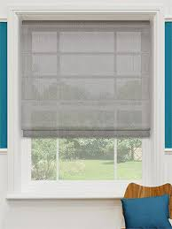 Blinds Rockhampton Liberty Voile Stripe Roman Blind From Blinds 2go Living Room