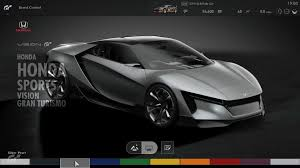new honda sports car honda u0027s u0027baby nsx u0027 patent was actually its vision gt concept car