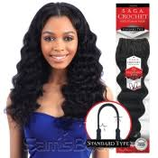 braids crochet saga human hair crochet braids pre loop type yaky samsbeauty