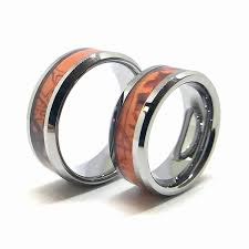 camo wedding band sets camo wedding ring sets for him and damascus rings