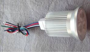 5 wire led light 3 4w rgbw warm white led spotlight dc12v input with 5 wire pwm