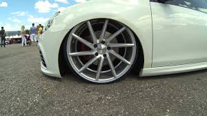 volkswagen golf wheels wörthersee 2014 volkswagen golf vossen wheels youtube