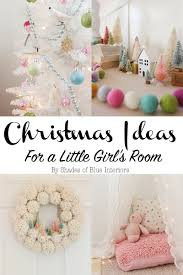 little girls room ideas christmas ideas for a little u0027s room pompom wreath shades