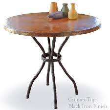 Oval Bistro Table Wrought Iron Woodland Bistro Table With 36in Top