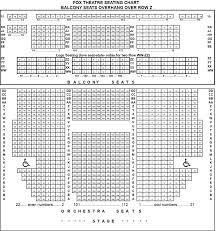 fox theater floor plan fox theatre seating chart tucson brokeasshome com