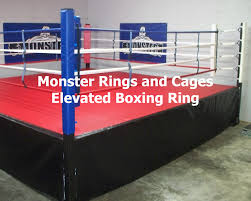 Wrestling Ring Bed by Competition Boxing Ring
