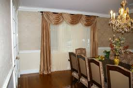 Curtains For Dining Room Windows Dining Room Design Window Drapes Arch Windows Dining Room