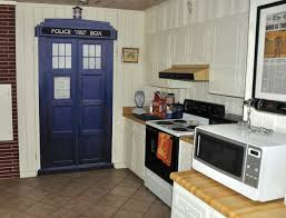 Dr Who Home Decor Hand Made Life Size Tardis Wall Decal By Wilson Graphics Inc