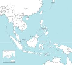 East Asia Map Free Maps Of Asean And Southeast Asia Up Throughout South East
