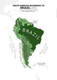 Maps Of South America Atlas Of Prejudice