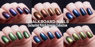 enchanted polish imagine collection chalkboard nails nail art blog