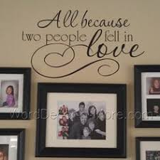 Love The Decal AND The Frame Mantel Yes Please BIG Because - Family room wall quotes