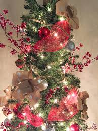 Making Bows Christmas Tree Decorations by How To Make A Twig Tree Topper Hometalk